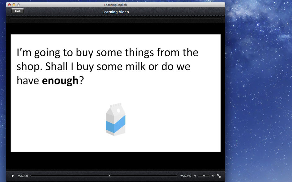 Learning English for mac