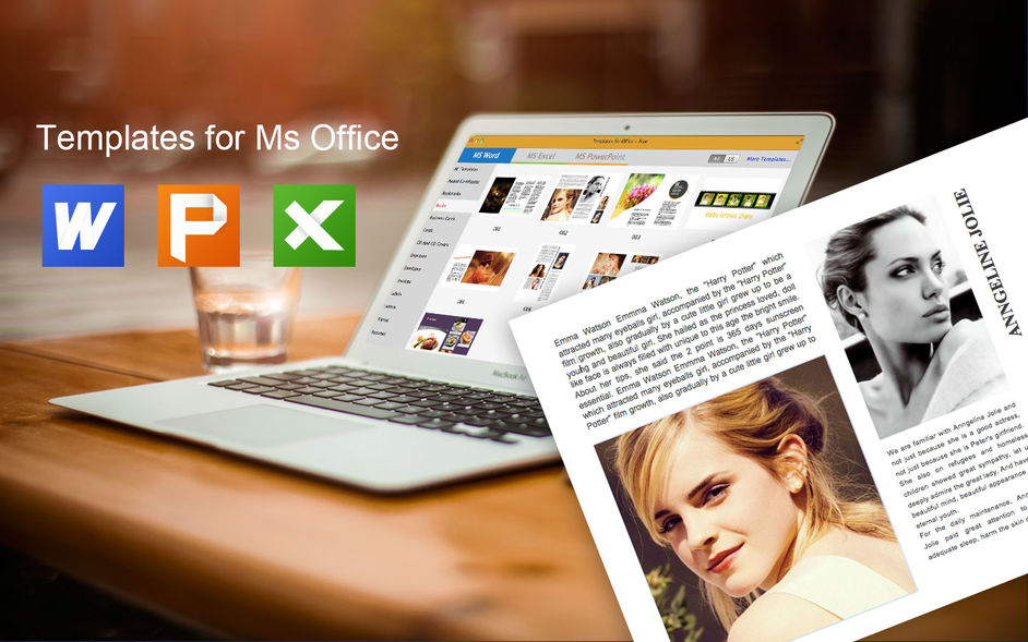 Templates for Office - Free for mac 软件截图1