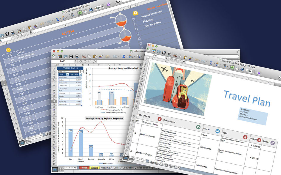 Templates for Office - Free for mac 软件截图3